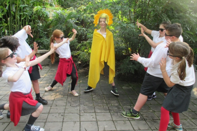 Chocology for KS2 at the Eden Project, November 2016 2